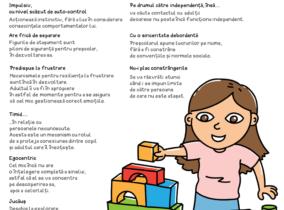 Caracteristici de personalitate ale preșcolarului